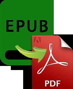 convert epub to pdf free