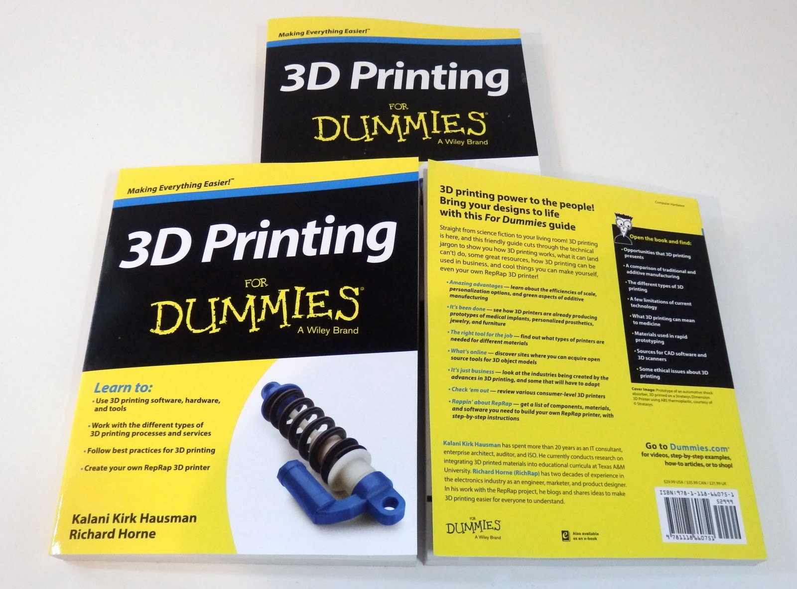 3d printing for dummies ebook
