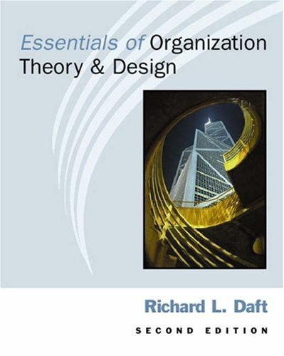 organization theory and design 11th edition ebook