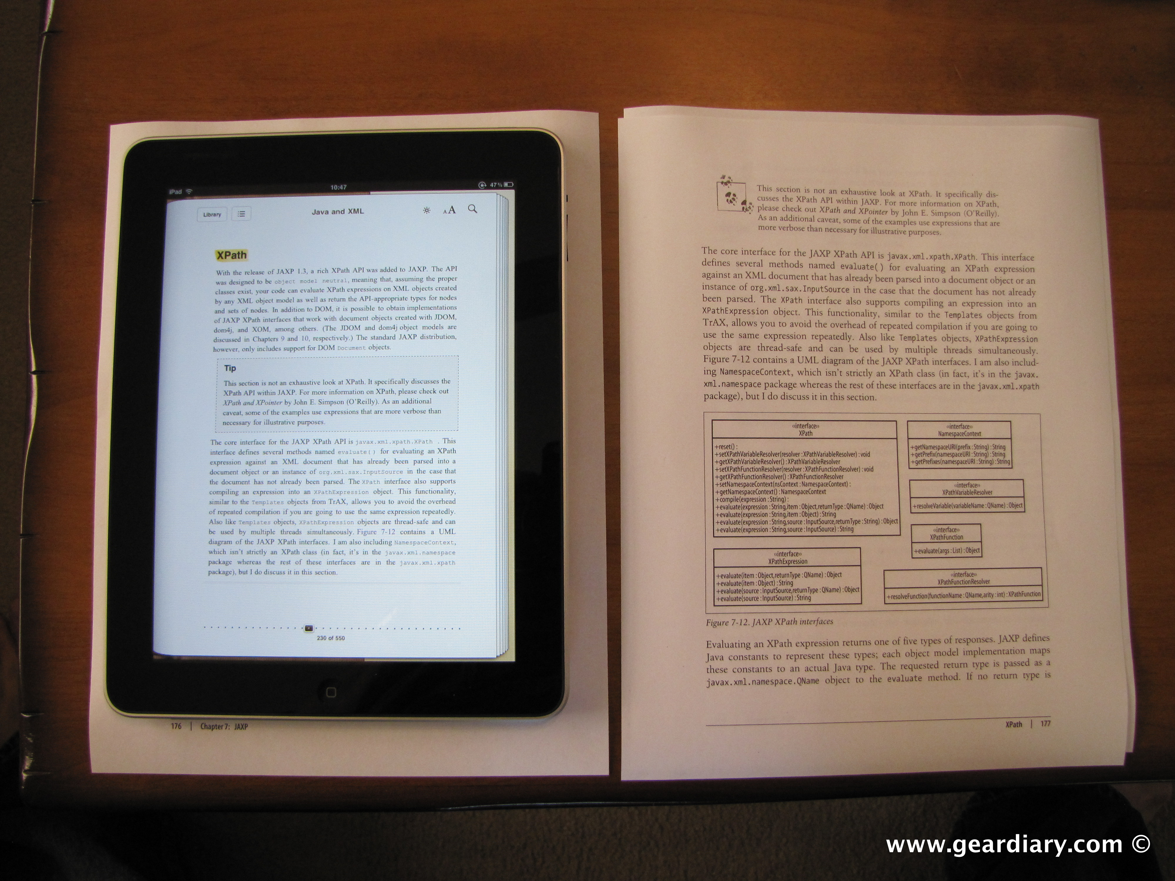 open epub ebook on ipad
