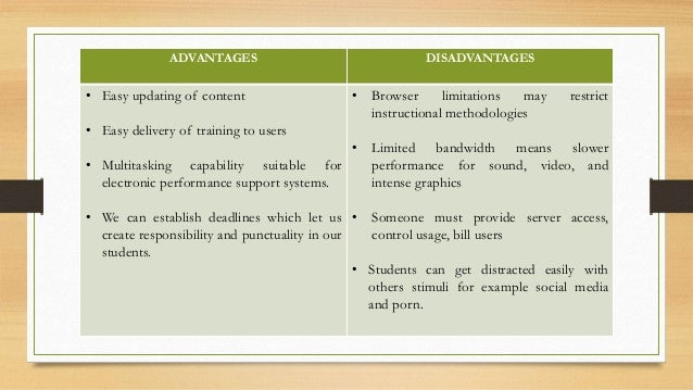 advantages and disadvantages of ebooks and paper books