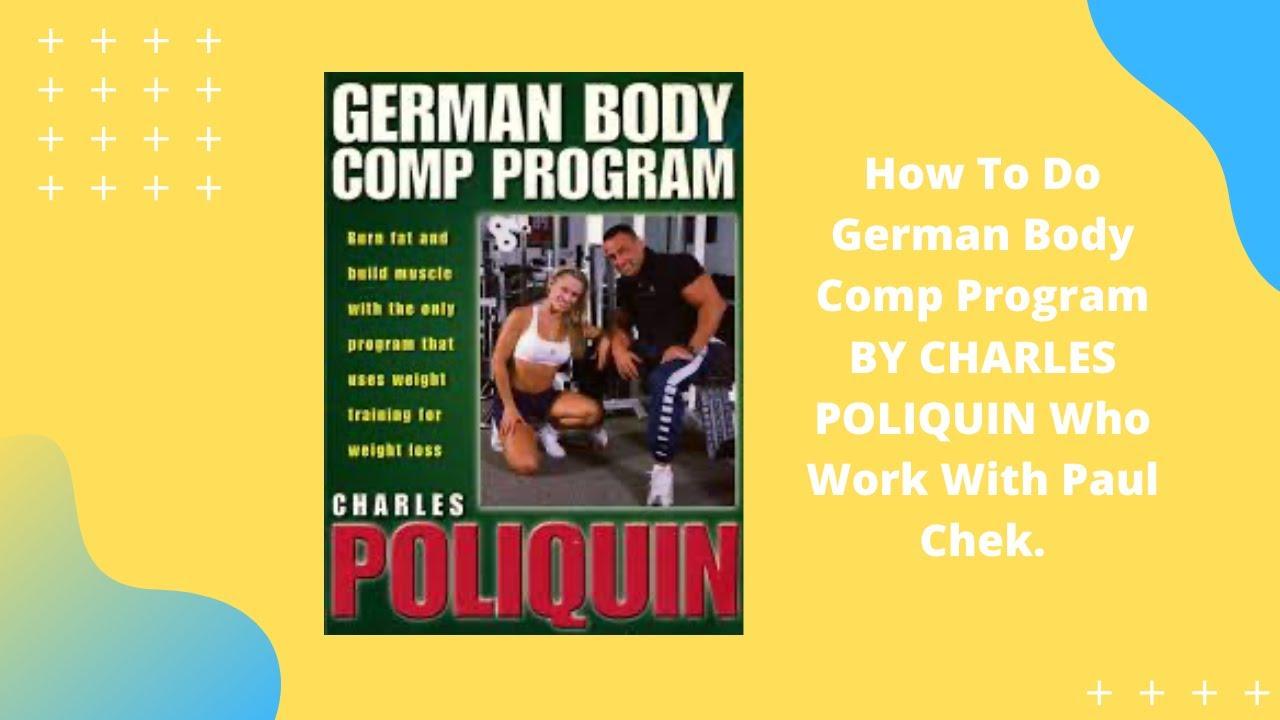 german body comp program ebook