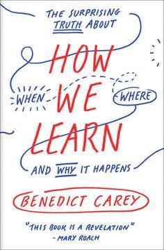 how we learn benedict carey epub
