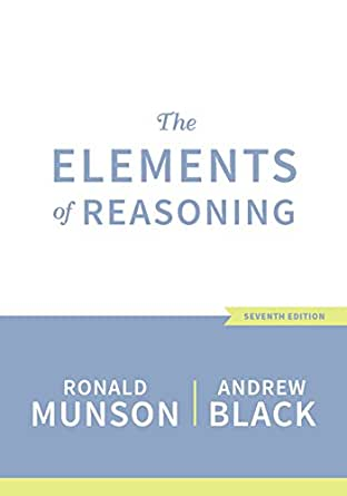 the elements of reasoning 7th edition ebook