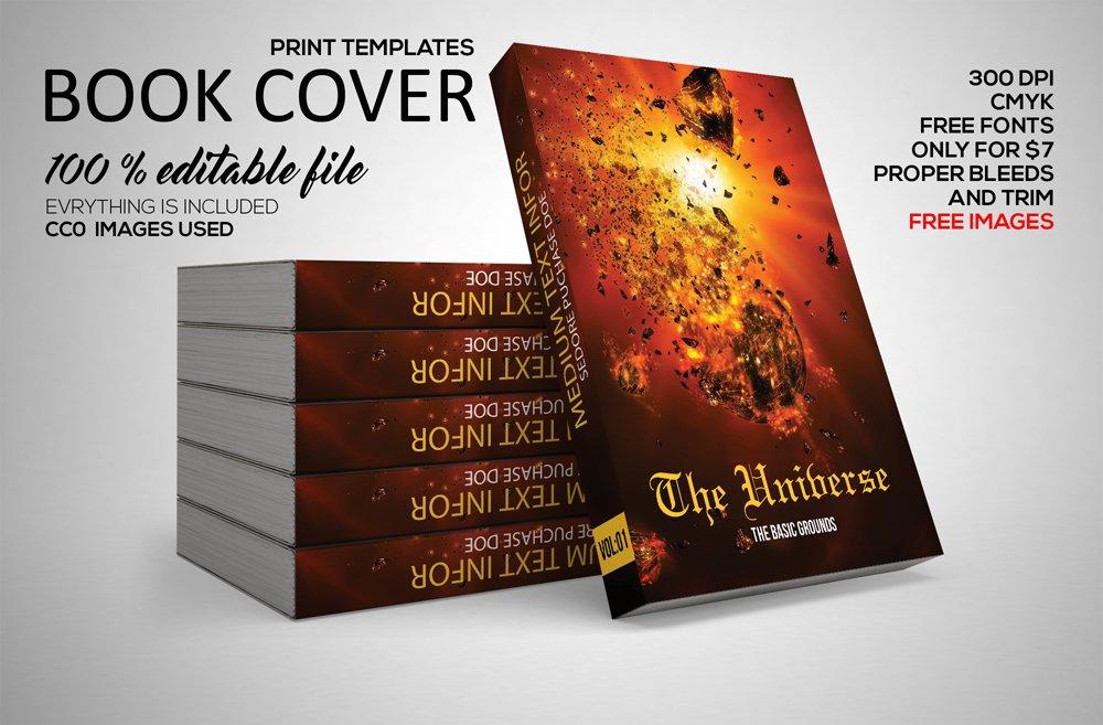 3d ebook cover gimp template