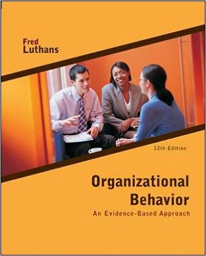 organizational behavior by fred luthans free ebook download