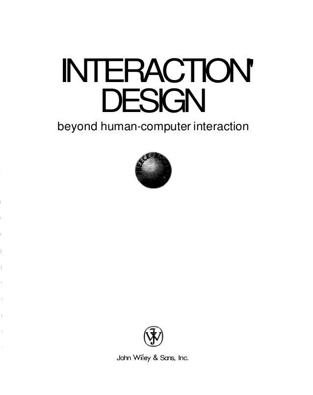 interaction design beyond human computer interaction ebook