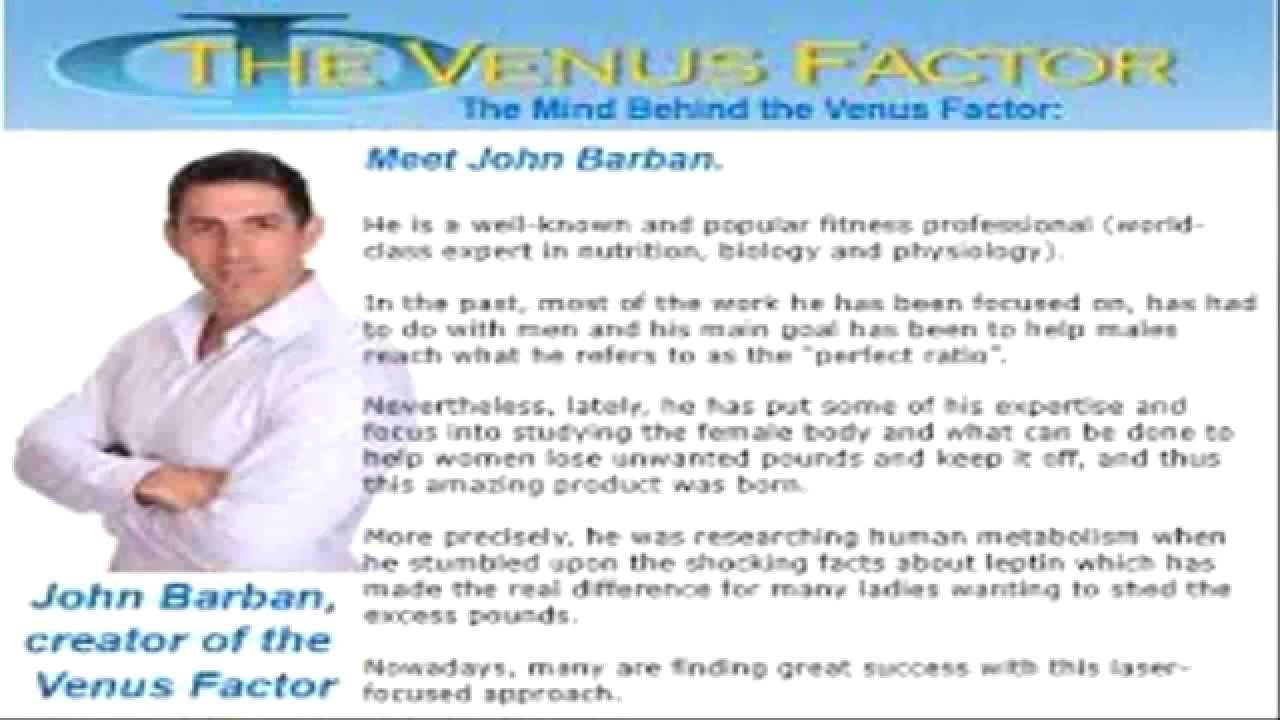 the venus factor free download ebook