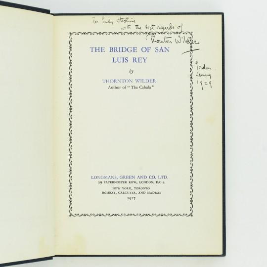 the bridge of san luis rey free ebook