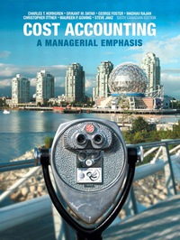 cost accounting a managerial emphasis 2nd edition ebook