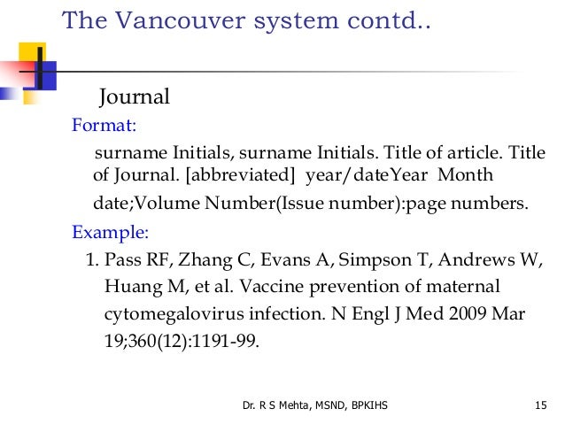 how to reference tables in ebooks vancouver
