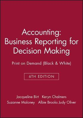 accounting business reporting for decision making 6e ebook