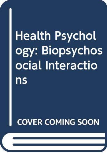 health psychology biopsychosocial interactions ebook