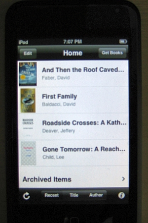 ebook reader app like kindle