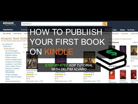 publish your ebook on kdp