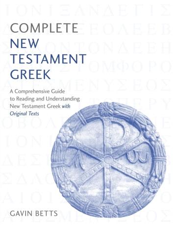 gavin betts ancient greek ebook