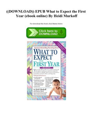 what to expect the toddler years epub